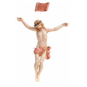 Statues en résine et PVC: Corps du Christ pvc 12 cm Fontanini type porcelaine
