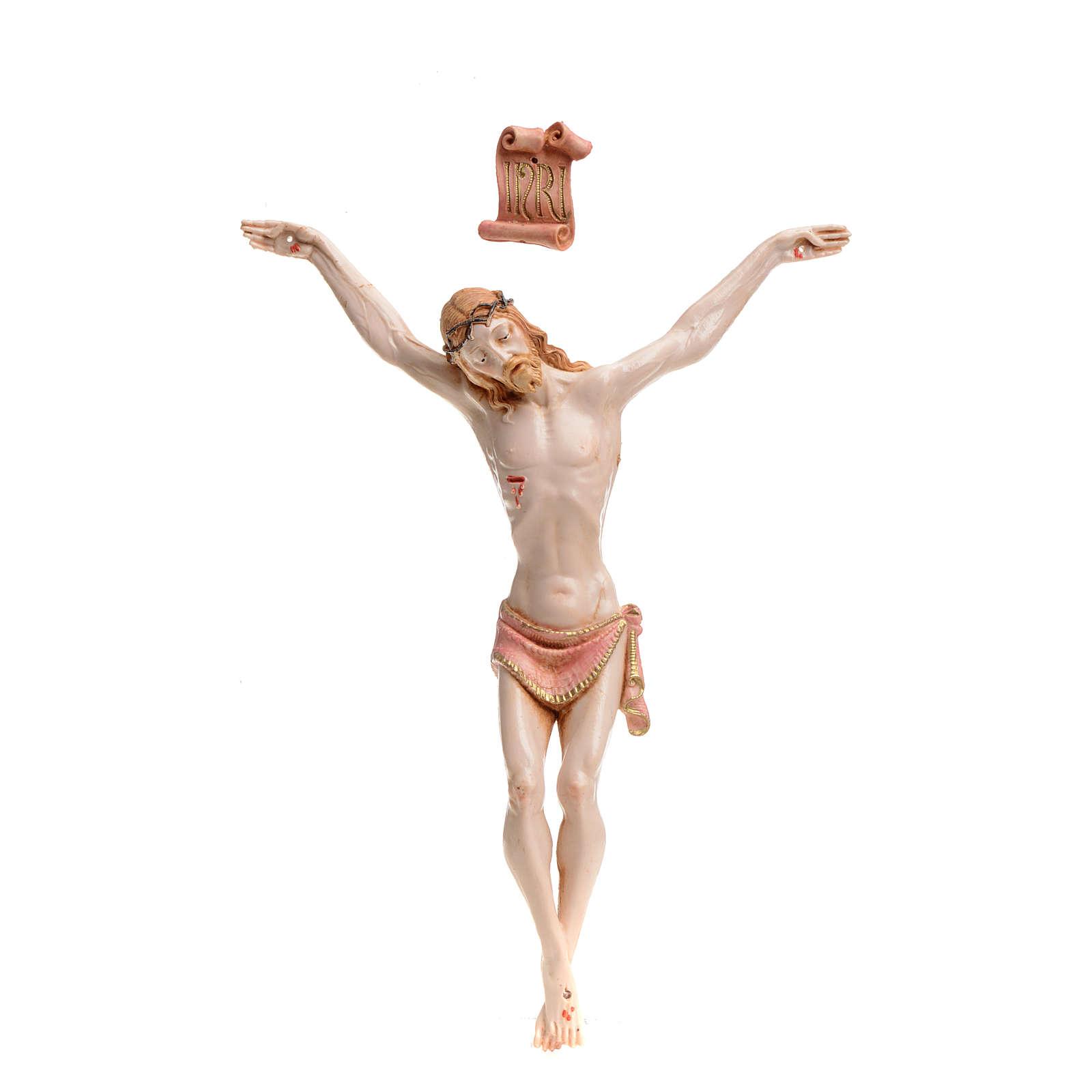 Christ en pvc 21 cm Fontanini type porcelaine 4