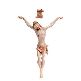 Statues en résine et PVC: Christ en pvc 21 cm Fontanini type porcelaine
