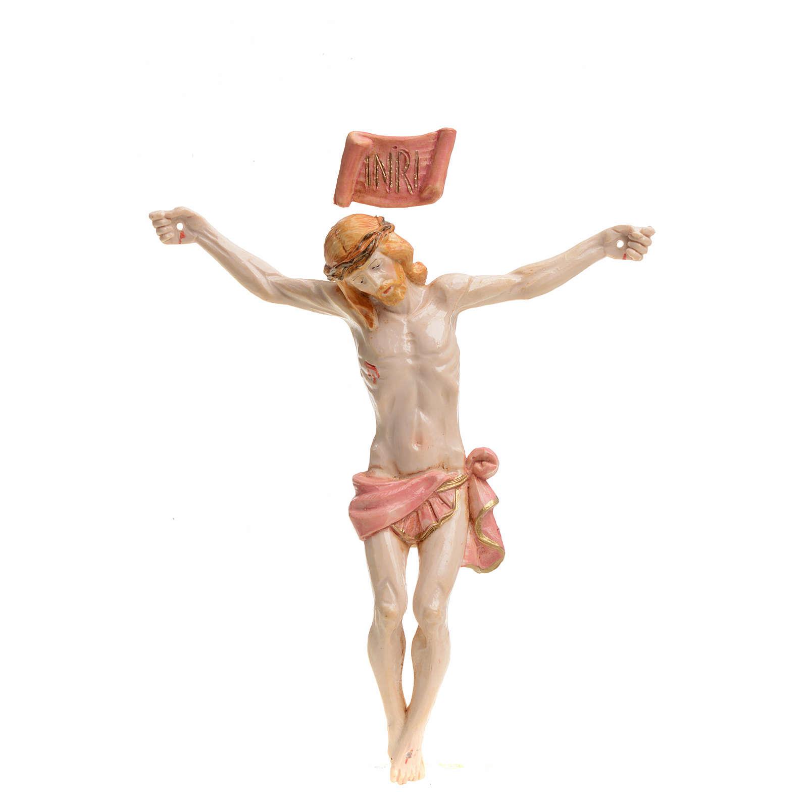Christ pvc 16 cm Fontanini type porcelaine 4