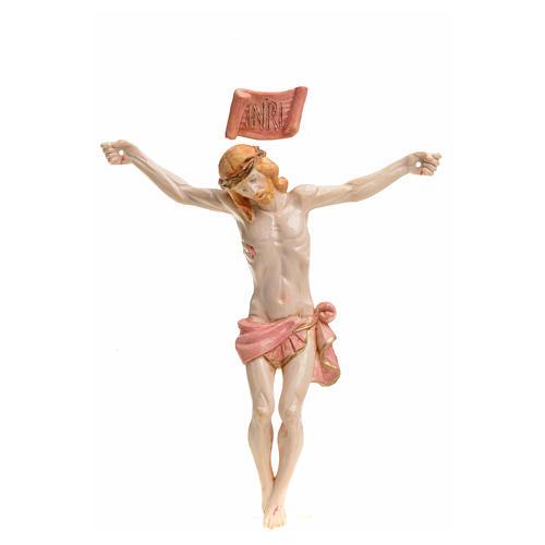 Christ pvc 16 cm Fontanini type porcelaine 1