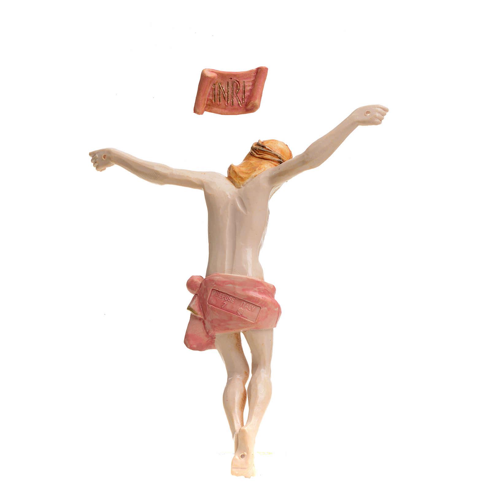 Corpo di Cristo pvc Fontanini cm 16 tipo porcellana 4