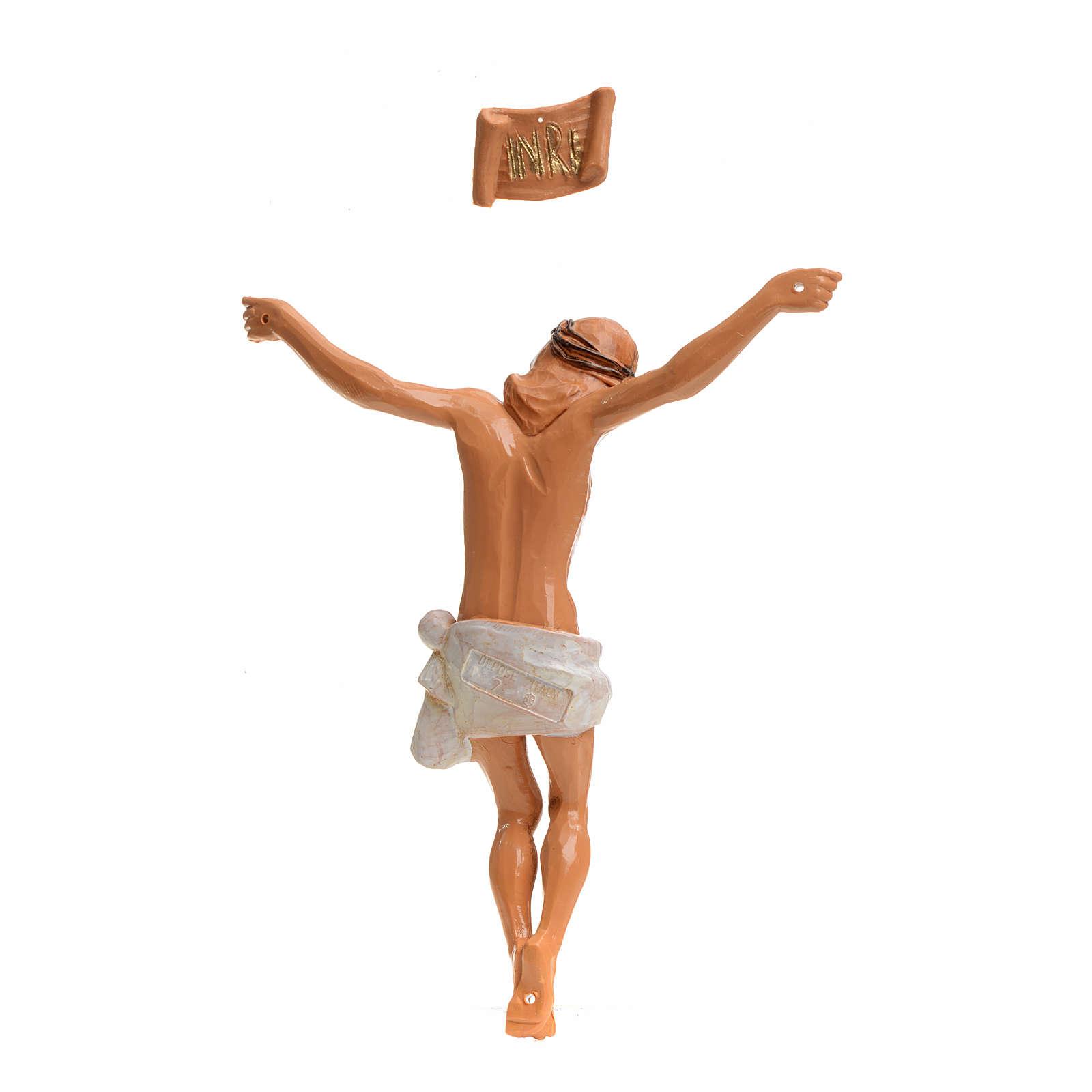 Corps du Christ pvc 16 cm Fontanini 4