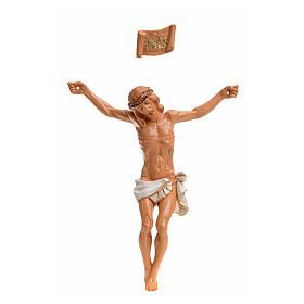 Imagens em Resina e PVC: Corpo de Cristo pvc Fontanini 16 cm