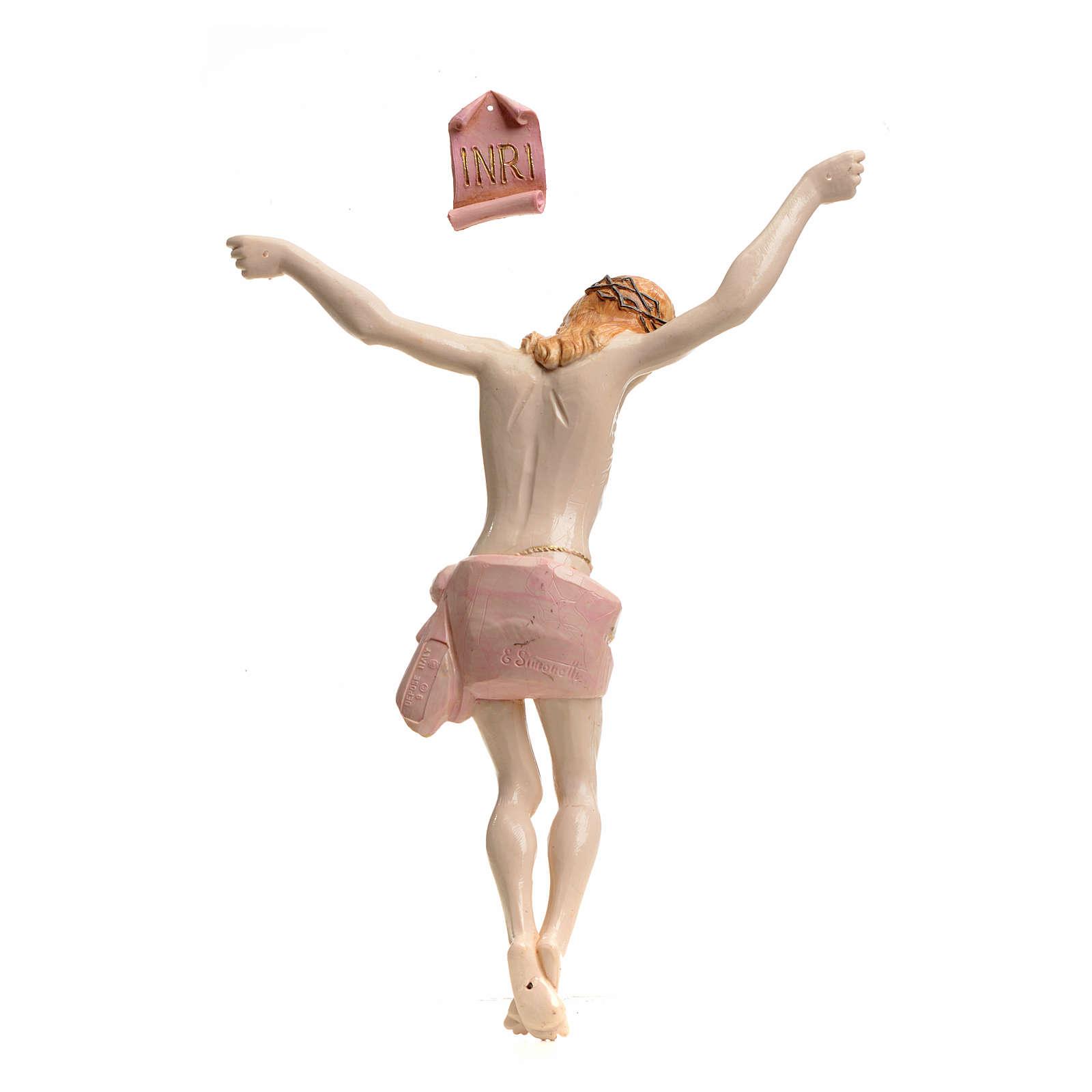 Corps du Christ pvc 26 cm Fontanini type porcelaine 4