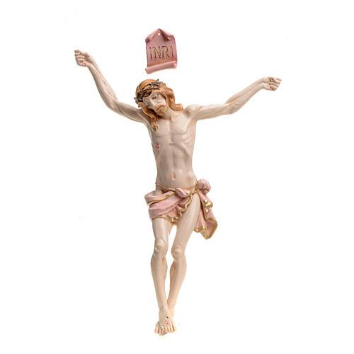 Corps du Christ pvc 26 cm Fontanini type porcelaine 1