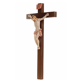 Crucifix bois Chris pvc 23x13 Fontanini type porcelaine s3