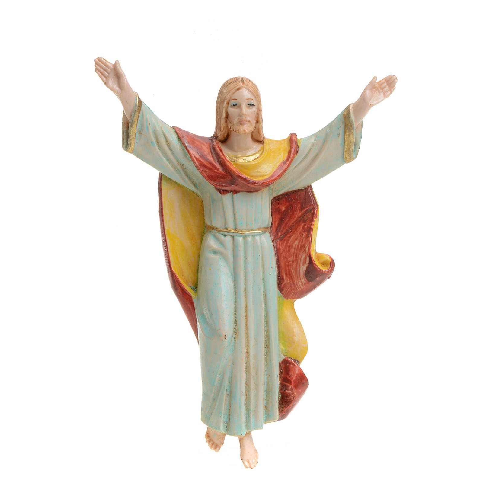 Christ Ressuscité pvc Fontanini 12 cm 4