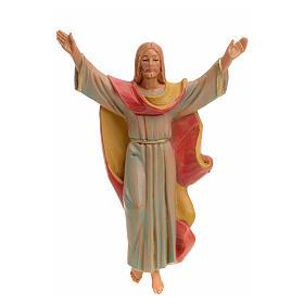 Statuen aus Kunstharz und PVC: Auferstandene Christus 12cm Porzellan Finish, Fontanini