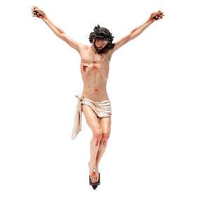 Corpo di Cristo napoletano terracotta occhi di vetro h 45 cm s1
