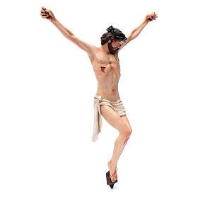 Corpo di Cristo napoletano terracotta occhi di vetro h 45 cm s3