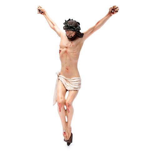 Corpo di Cristo napoletano terracotta occhi di vetro h 45 cm 2