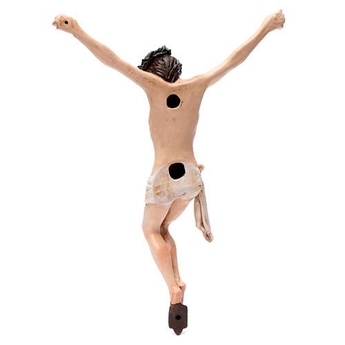 Corpo di Cristo napoletano terracotta occhi di vetro h 45 cm 5