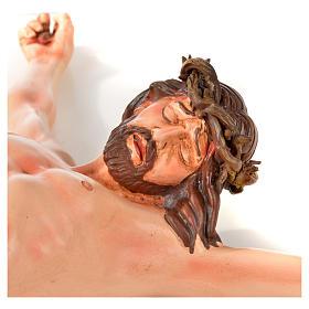 Corpo di Cristo napoletano terracotta h 45 cm s5