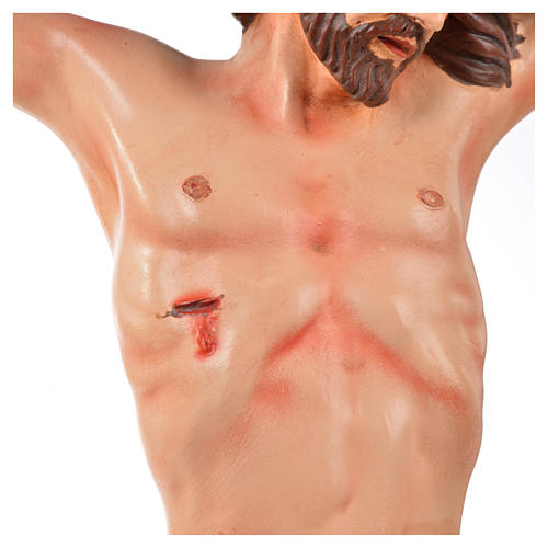 Body of Christ, Neapolitan in terracotta H45cm 3
