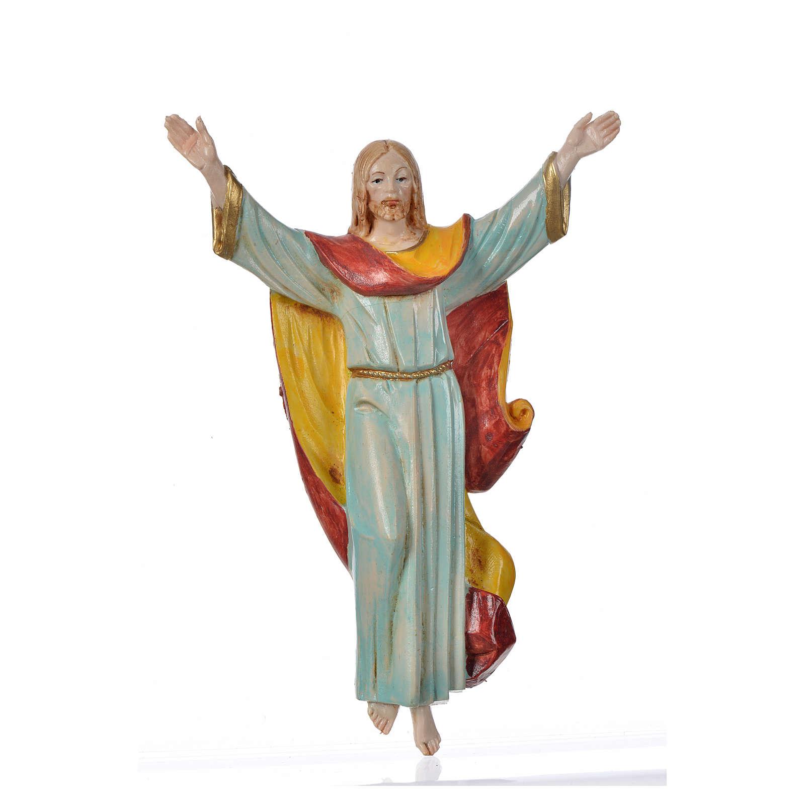Cristo Risorto cm 17 Fontanini pvc tipo porcellana 4