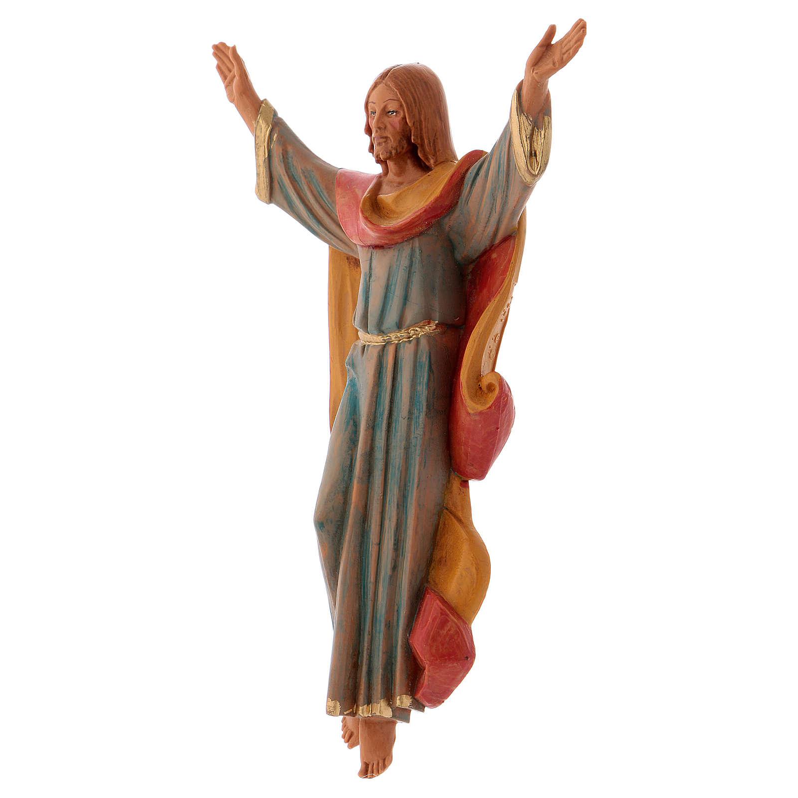 Chrystus Zmartwychwstały cm 17 Fontanini pcv 4