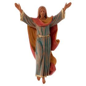 Imagens em Resina e PVC: Cristo Ressuscitado 17 cm pvc Fontanini