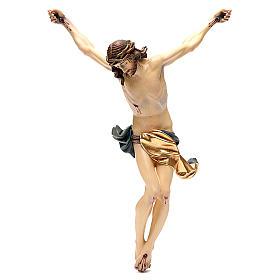 Corps Christ modèle Corpus bois coloré Val Gardena s13