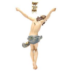 Corps Christ modèle Corpus bois coloré Val Gardena s2