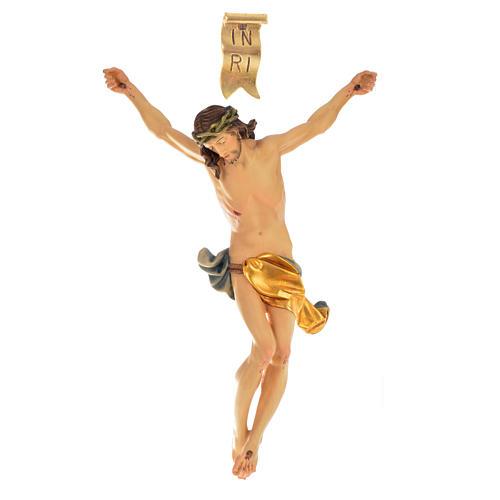 Corps Christ modèle Corpus bois coloré Val Gardena 7