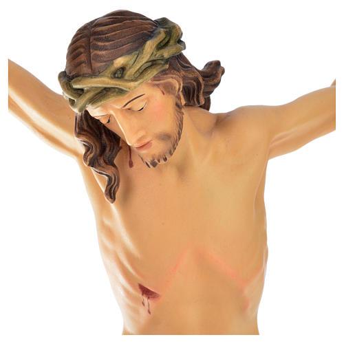 Corps Christ modèle Corpus bois coloré Val Gardena 8
