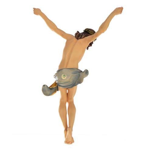 Corps Christ modèle Corpus bois coloré Val Gardena 11