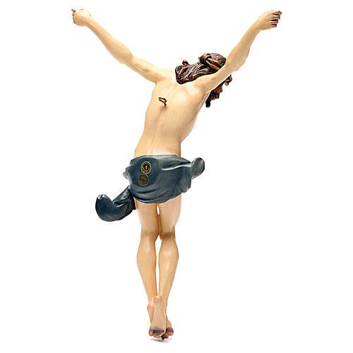 Corps Christ modèle Corpus bois coloré Val Gardena 15
