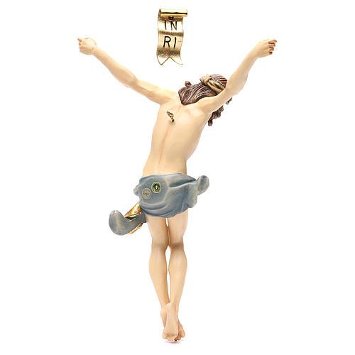 Corps Christ modèle Corpus bois coloré Val Gardena 2