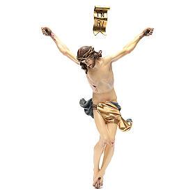 Corpo di Cristo mod. Corpus legno Valgardena colorato s14