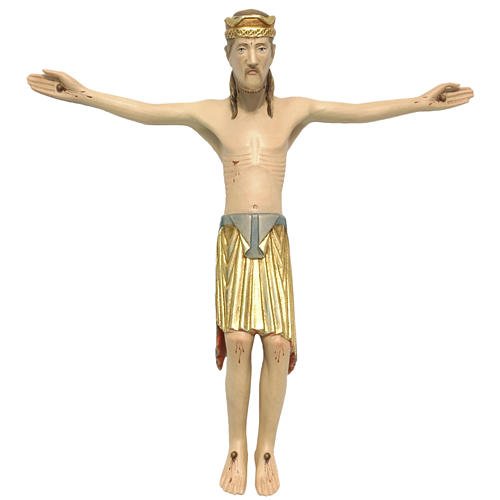 Altenstadt crucifix 30cm in Valgardena wood 1