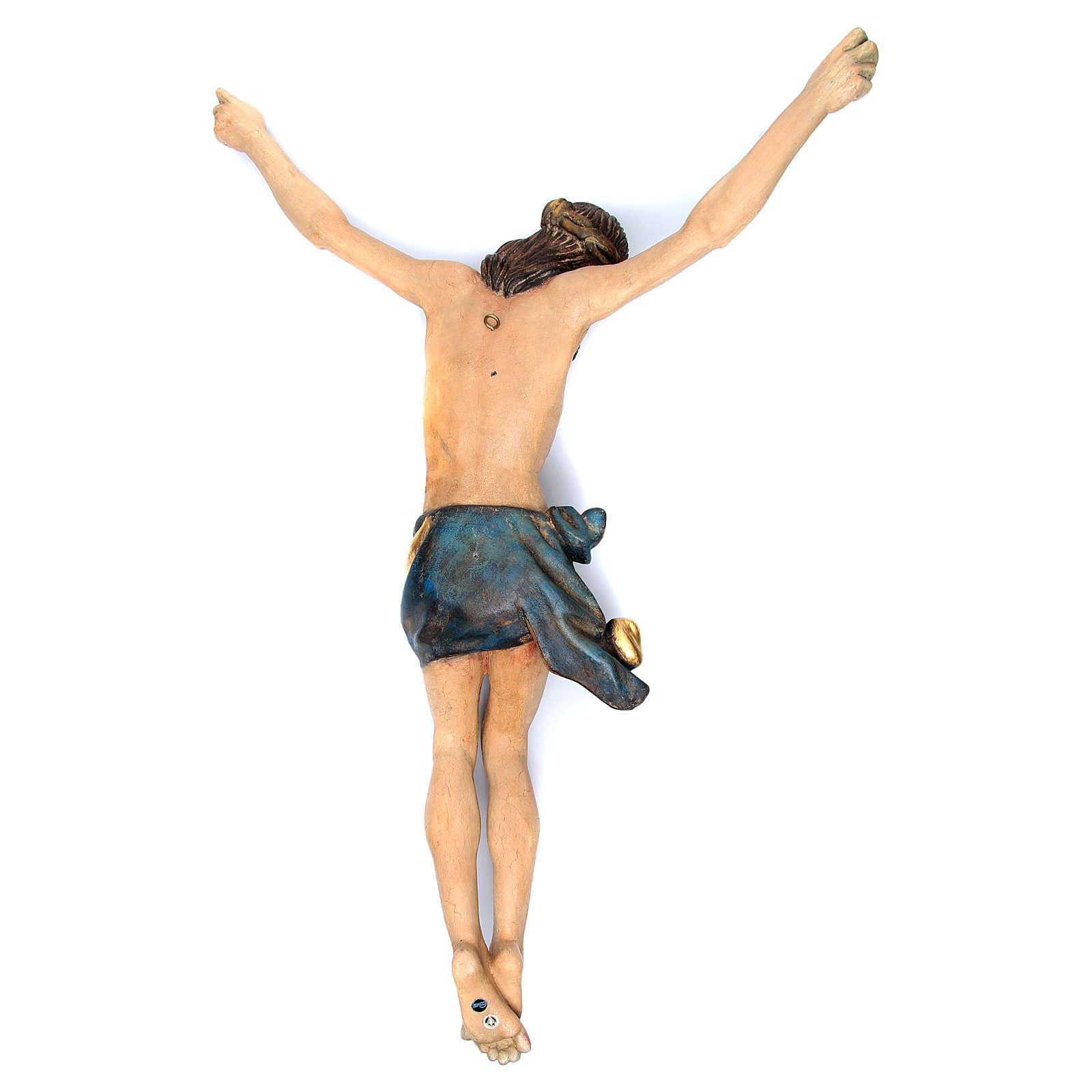 Corpo di Cristo mod. Corpus legno Valgardena Antico Gold 4