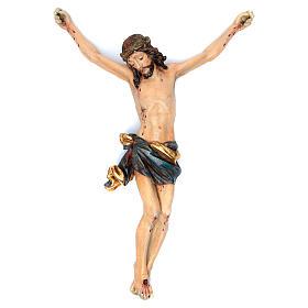 Corpo di Cristo mod. Corpus legno Valgardena Antico Gold s1
