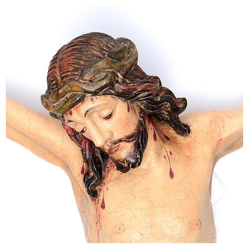 Corpo di Cristo mod. Corpus legno Valgardena Antico Gold 2