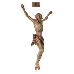 Cuerpo de Cristo modelo Corpus madera Valgardena patinado s2