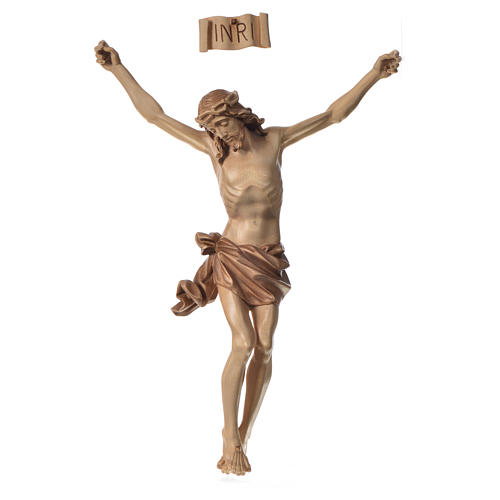 Body of Christ in Valgardena wood, multi-patinated model 1