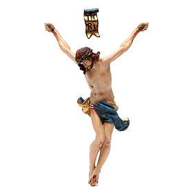 Cuerpo de Cristo madera Valgardena Antiguo Gold s1