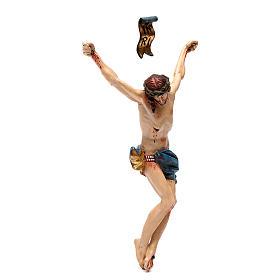 Cuerpo de Cristo madera Valgardena Antiguo Gold s3