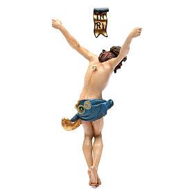 Cuerpo de Cristo madera Valgardena Antiguo Gold s4