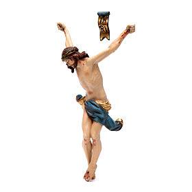 Cuerpo de Cristo madera Valgardena Antiguo Gold s2