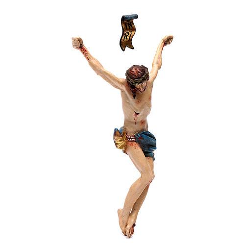 Cuerpo de Cristo madera Valgardena Antiguo Gold 3