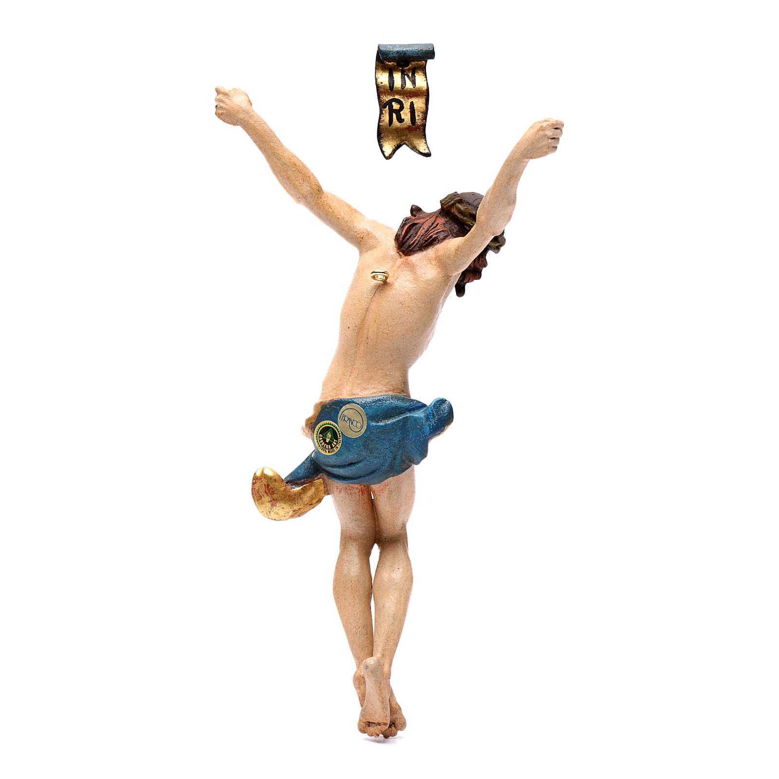 Corpo di Cristo legno Valgardena Antico Gold 4
