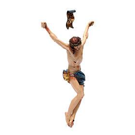 Corpo di Cristo legno Valgardena Antico Gold s3