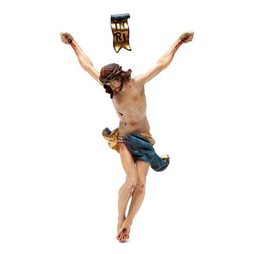 Corpo di Cristo legno Valgardena Antico Gold 1