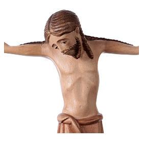Corpo di Cristo stile romanico legno Valgardena multipatinato s2