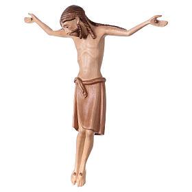 Corpo di Cristo stile romanico legno Valgardena multipatinato s3