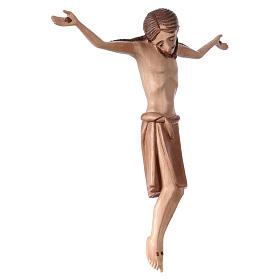 Corpo di Cristo stile romanico legno Valgardena multipatinato s4