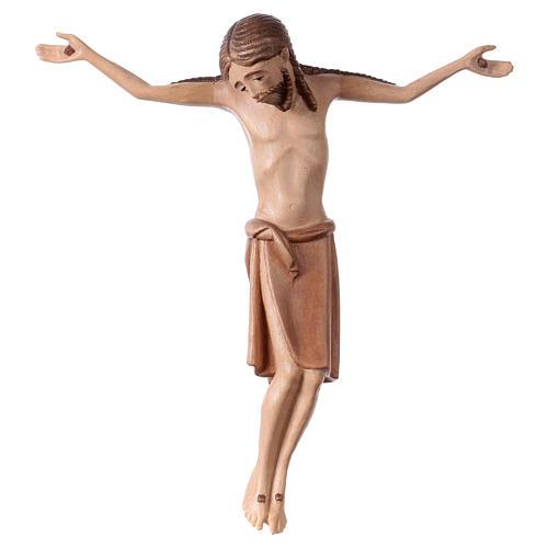 Corpo di Cristo stile romanico legno Valgardena multipatinato 1