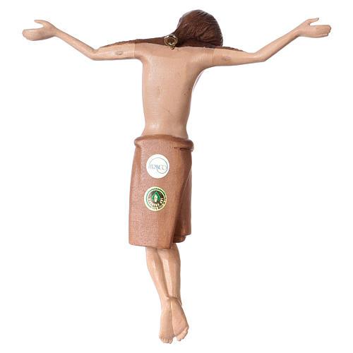 Corpo di Cristo stile romanico legno Valgardena multipatinato 5