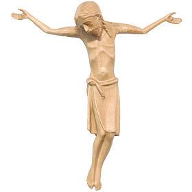 Corps Christ en style roman bois patiné Valgardena s1
